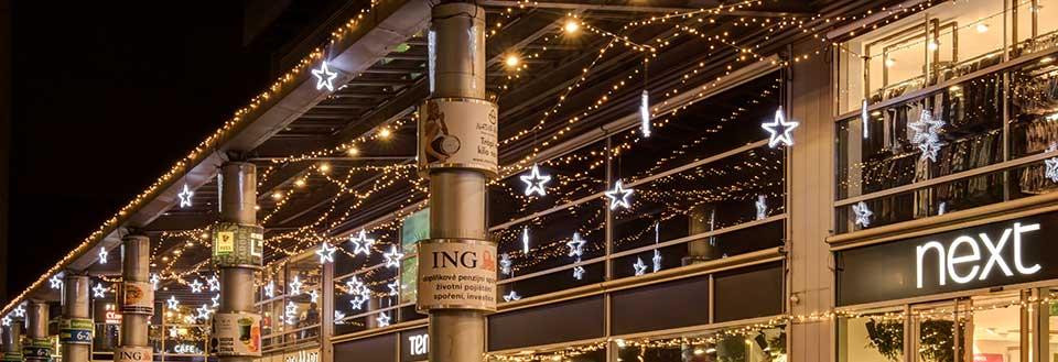 LED Weihnachtsbeleuchtung - Straßenbeleuchtung