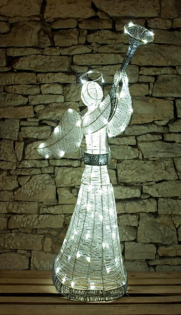 Weihnachtsbeleuchtung Für Draußen.Weihnachtsbeleuchtung Engel Für Außen Von Deco Led De