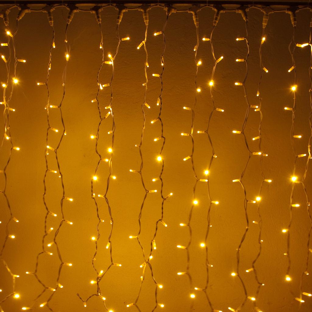 led lichtervorhang innen