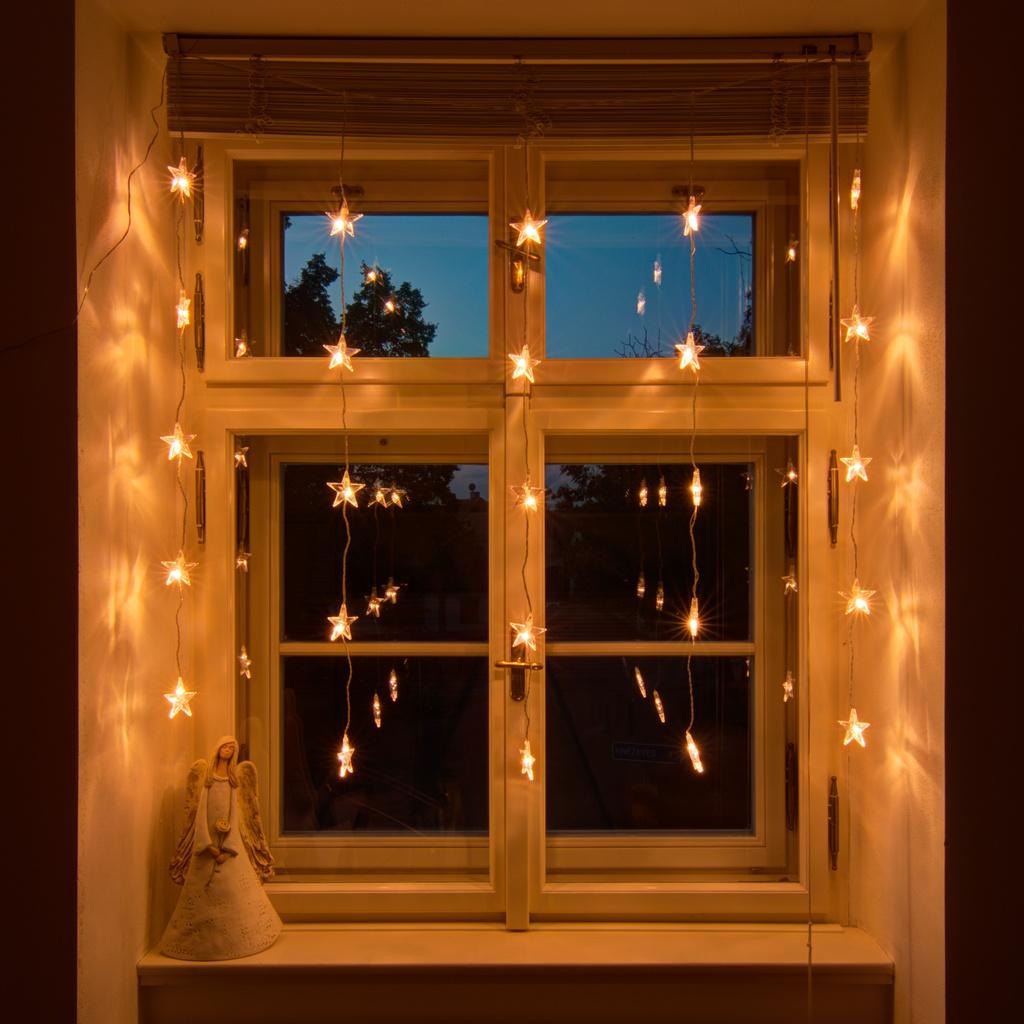 Weihnachtsbeleuchtung für Fenster - decoLED